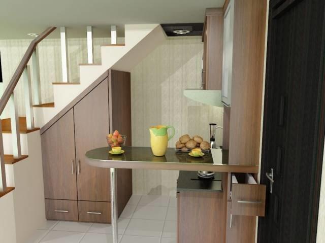 Как сделать из кухни лестницу 258