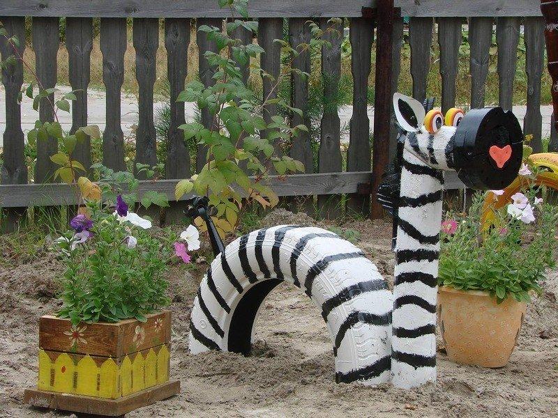 Какие поделки можно сделать в саду своими руками
