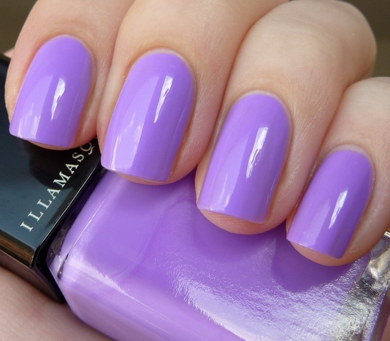 Маникюр гель лаком фото фиолетовый
