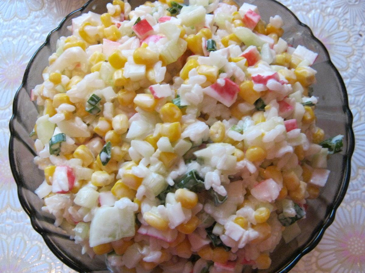Как сделать с крабовыми палочками салат рецепт