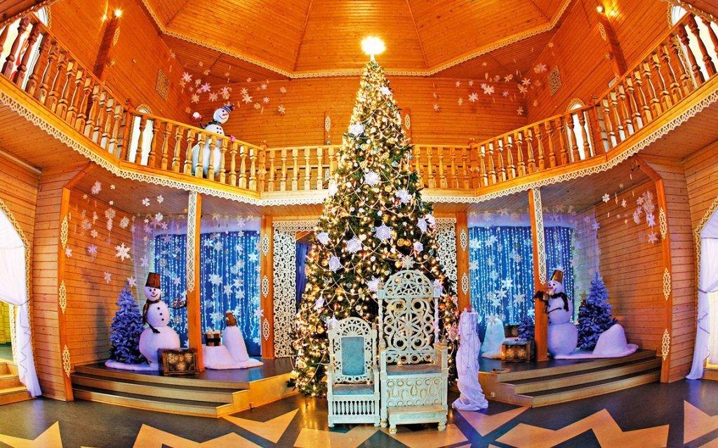 Новый год домик в финляндии на