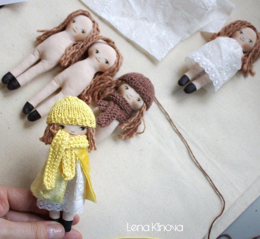 Мини-кукла своими руками 974