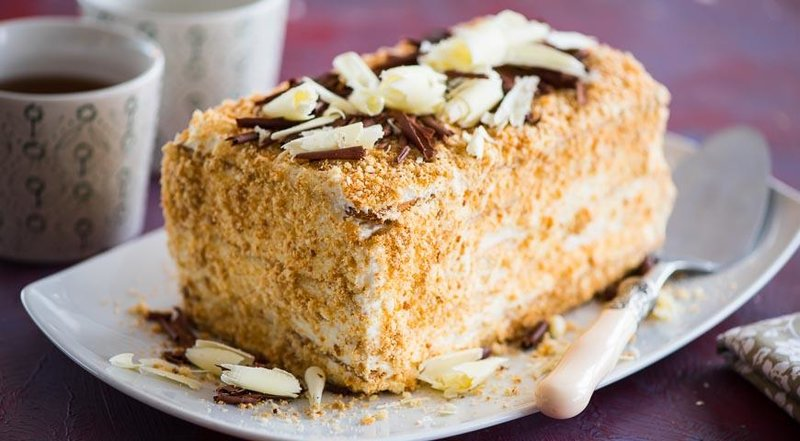 Торт наполеон рецепт пошаговый с фото
