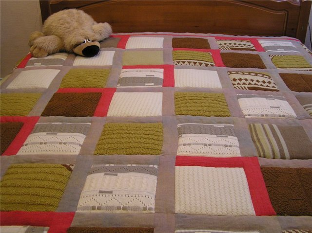 Что можно сделать из старого одеяла своими руками