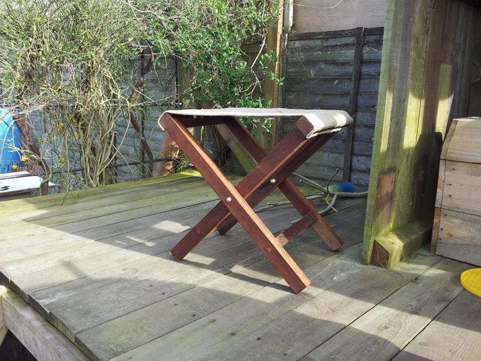 Как сделать раскладной стул по размерам 68