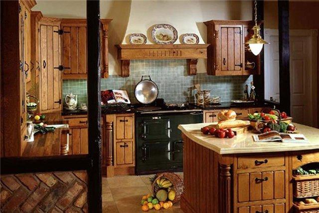Кухня в стиле кантри фото интерьер своими руками фото 72
