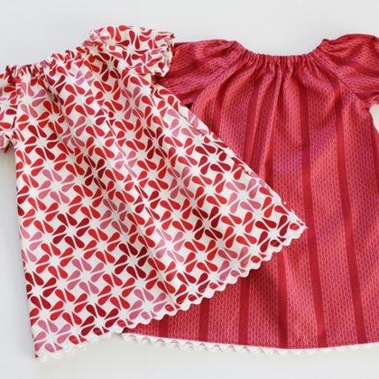 Летний костюм для девочки сшить своими руками 3