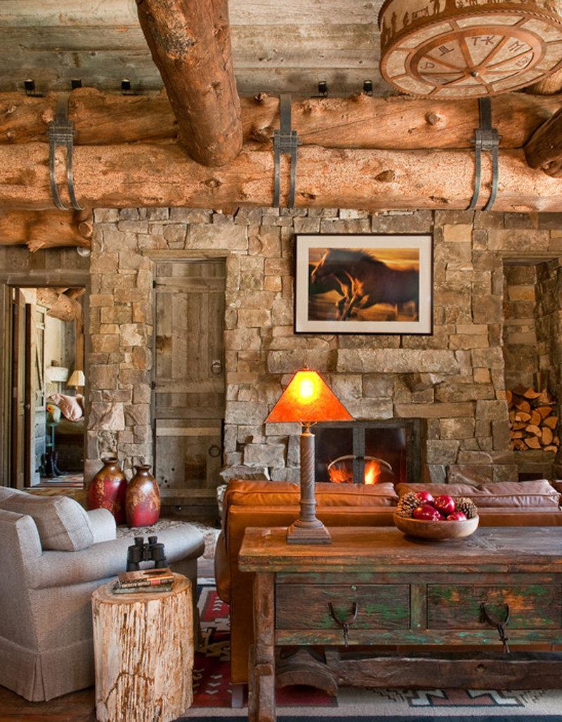 Деревянный дом интерьер на ютубе