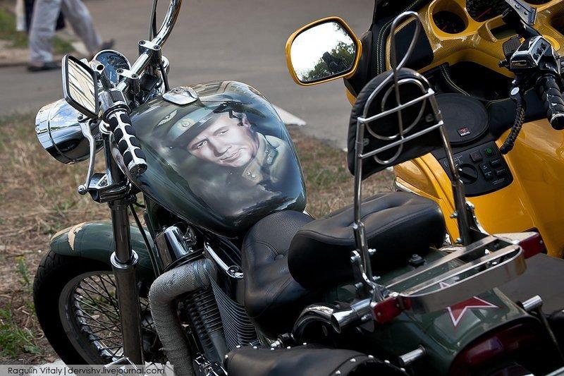 Рисунки на бак на мотоцикл