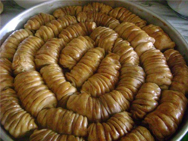 Рецепт турецкой пахлавы в домашних условиях