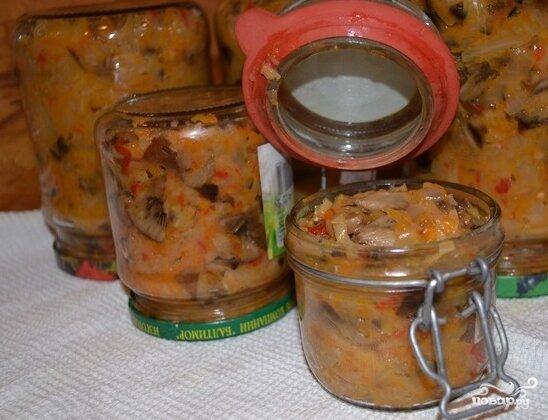 солянка с опятами рецепт с фото