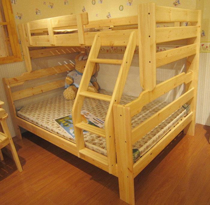 Как сделать двухъярусную кровать своими руками из бруса 70