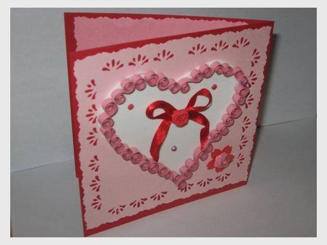 Как сделать открытку ко дню валентина своими руками 84