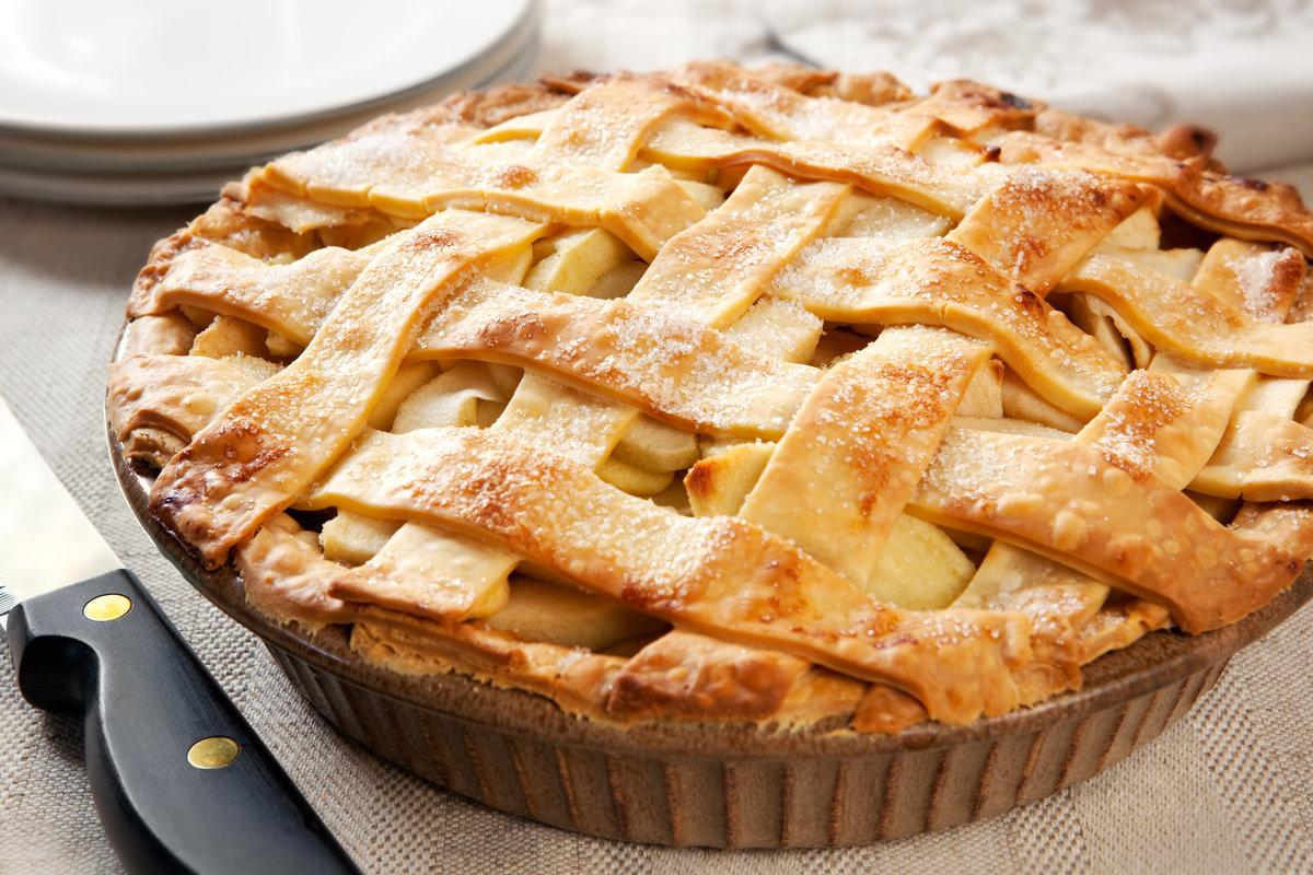 Пирог с яблоками и абрикосами пошаговый рецепт