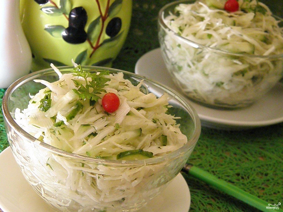 Салат из капусты постный рецепт очень вкусный с