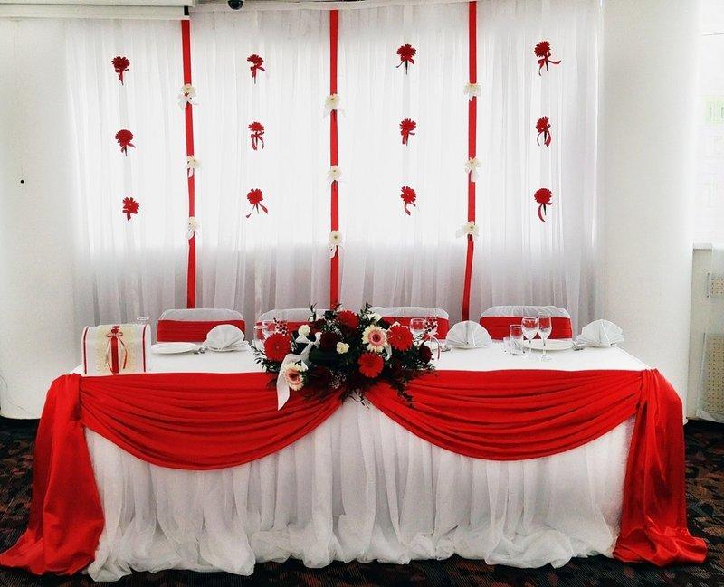 Оформление свадьбы тканью картинки