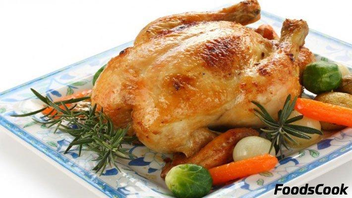 Курица запеченная в духовке рецепт пошагово
