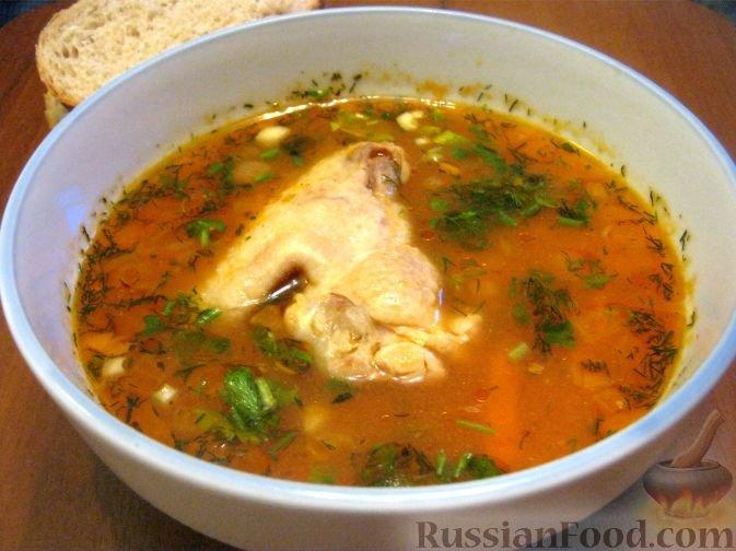 Рецепт супа борщ из курицы