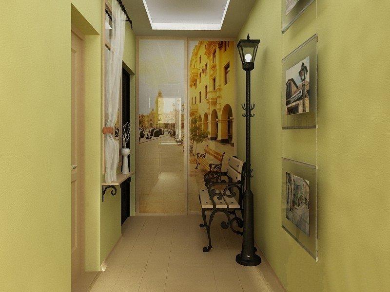 Дизайн маленькой и узкой прихожей в квартире