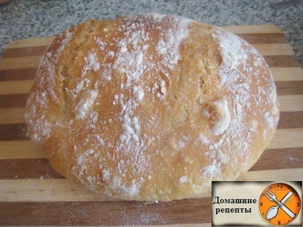 Хлеб на воде в домашних условиях в духовке рецепт с фото