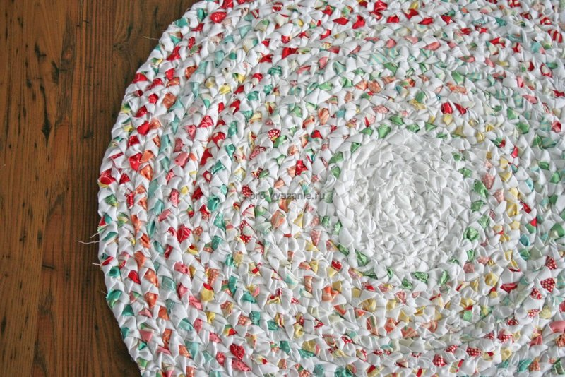 Плетеные коврики своими руками мастер класс