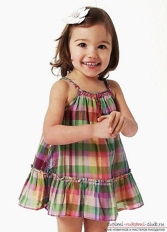 Сарафаны для девочки своими руками фото