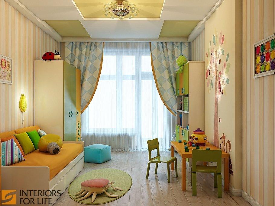 Фото дизайна детских комнат 8 квм