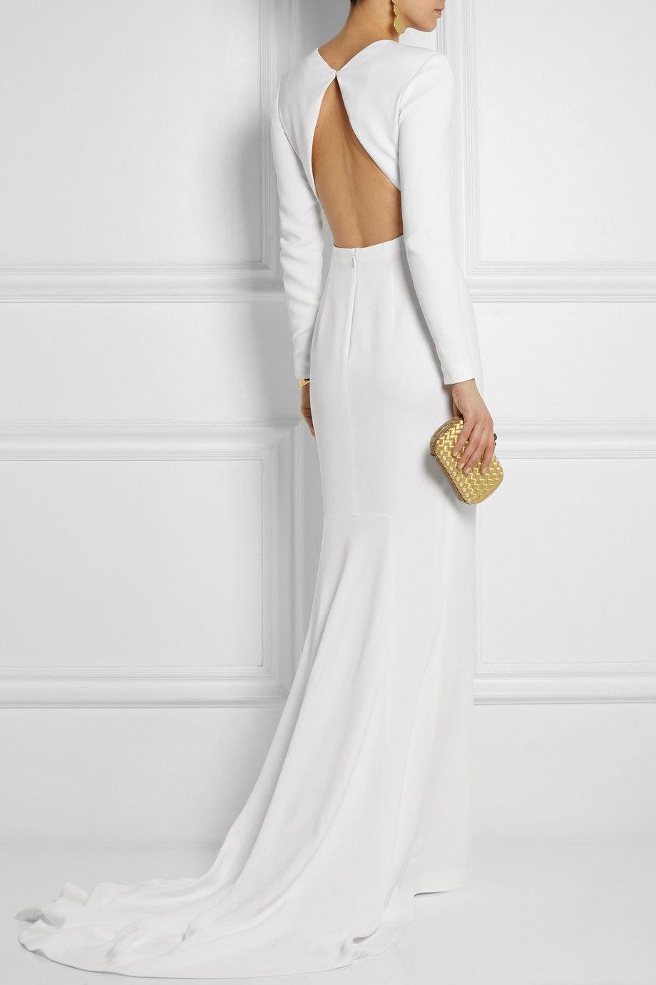 Свадебное платье минимализм