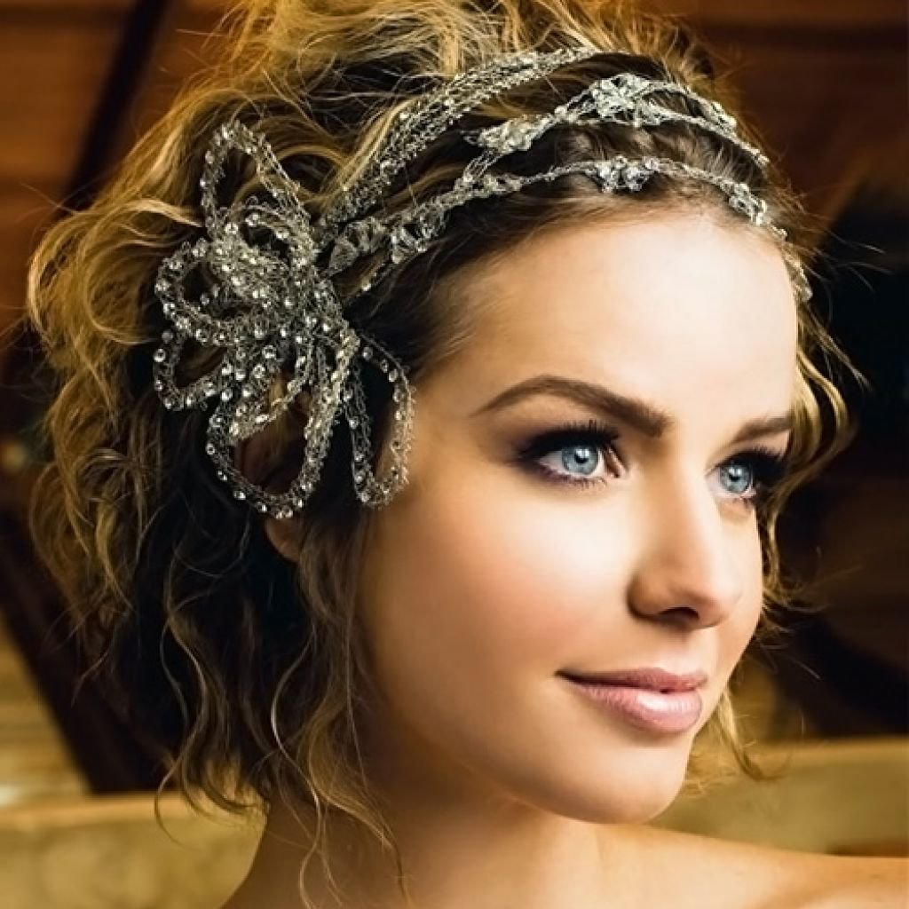 Греческие прически свадебные на короткие волосы фото