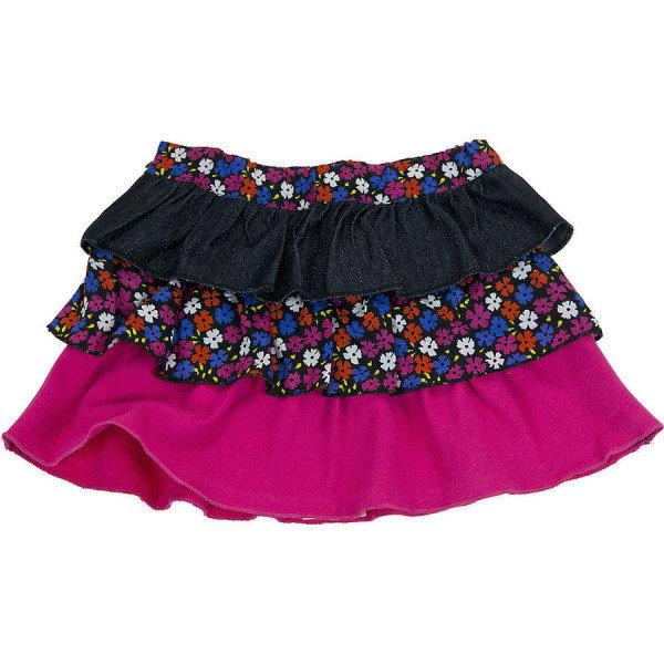 Сшить юбка с воланами на девочку 876