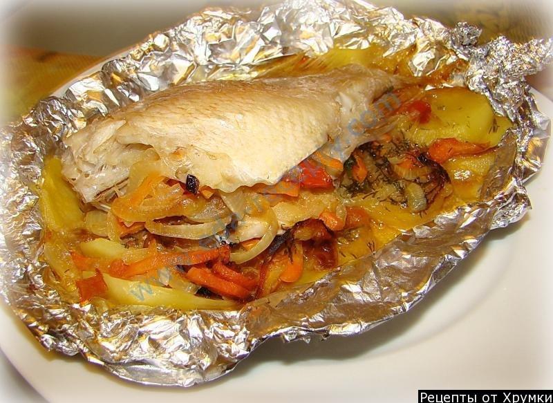 Филе окуня в духовке рецепты с фото