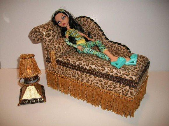 Самодельная мебель для куклы своими руками