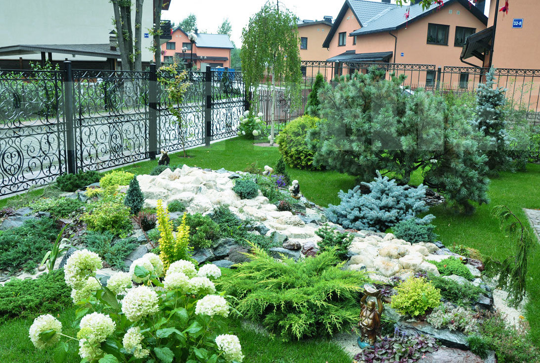 Благоустройство садового участка с фото своими руками 763