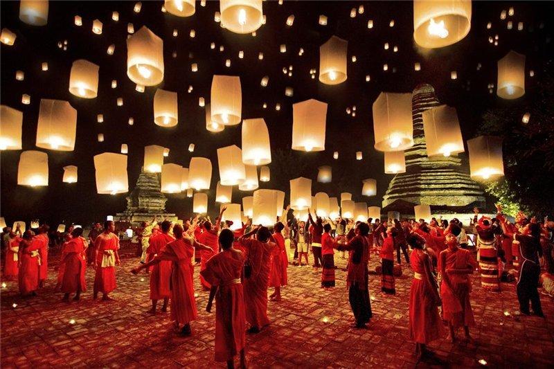 Китайский новый год когда празднуется в тайланде