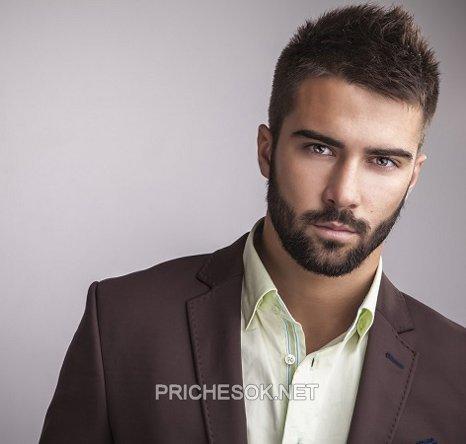 Мужские стрижки с бородой 2017
