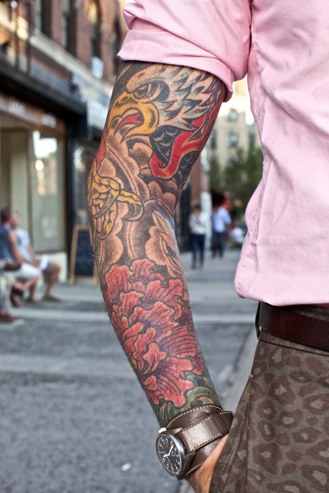 Фото стильный тату