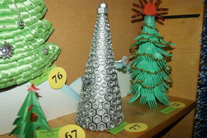 Необычная елка своими руками для конкурса