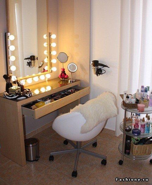 Дизайн столиков для макияжа