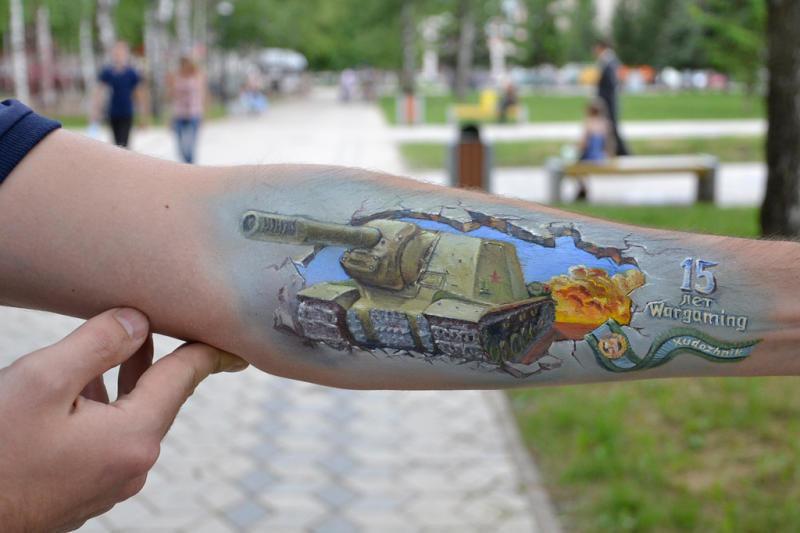 Тату танки