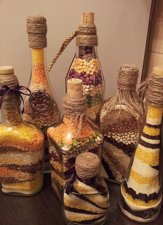 Декоративные банки для кухни своими руками