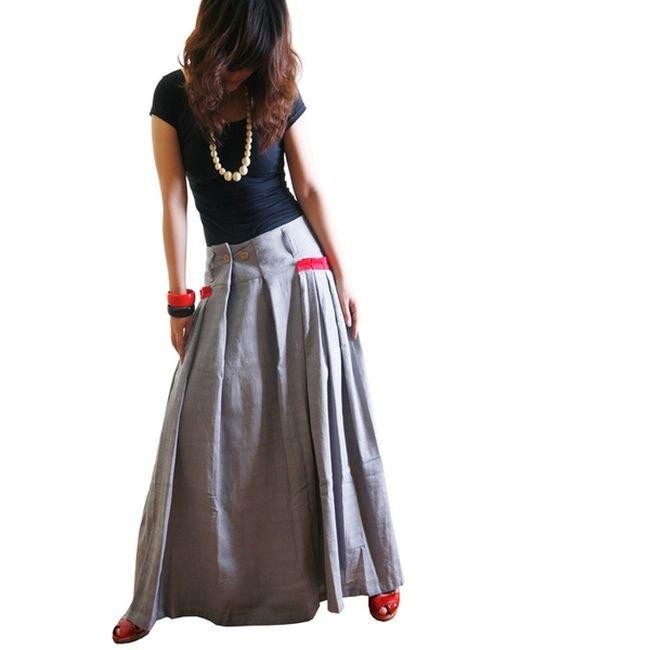 Длинные юбка своими руками