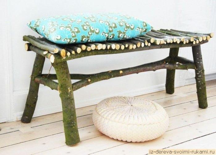 Мебель из черемухи своими руками 89