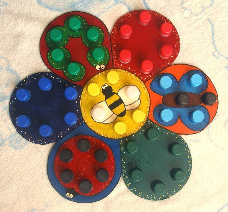 Игрушки своими руками из крышки 446