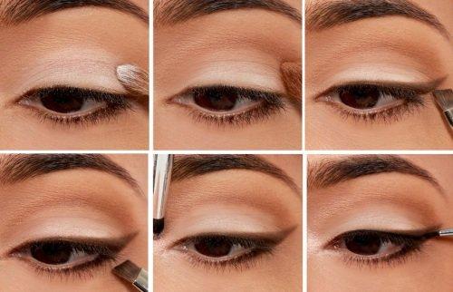 Повседневный макияж для карих глаз для девушек