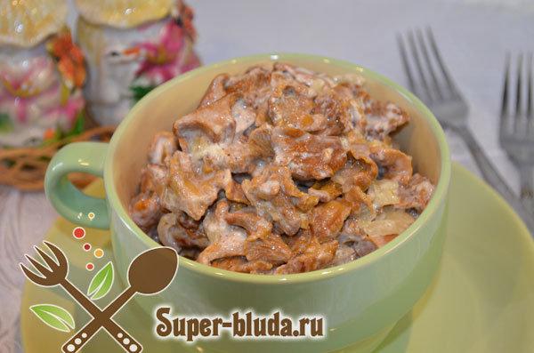 Рецепты из грибов лисичек рецепты простые