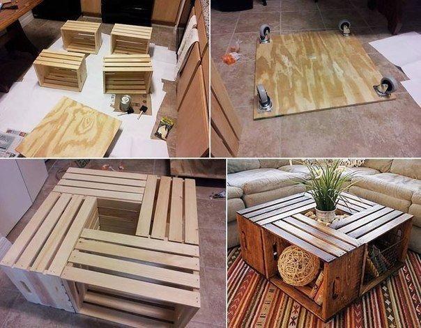 Мебель для дома своими руками из дерева фото