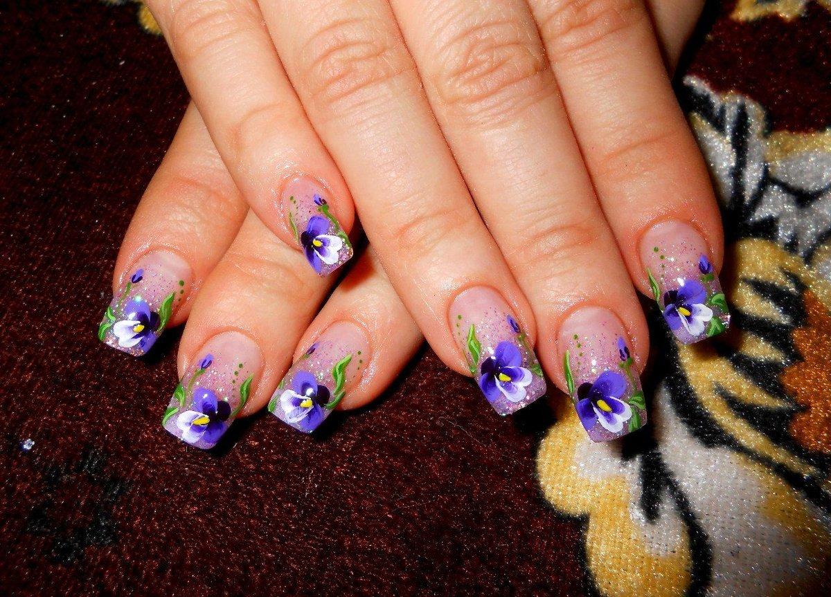 Самые яркие дизайны ногтей