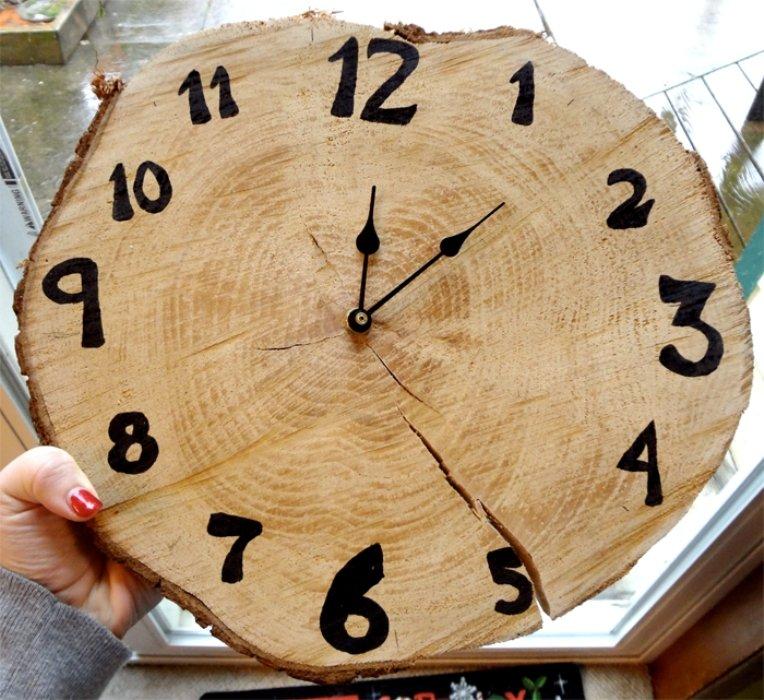 Часы из дерева сделать 64