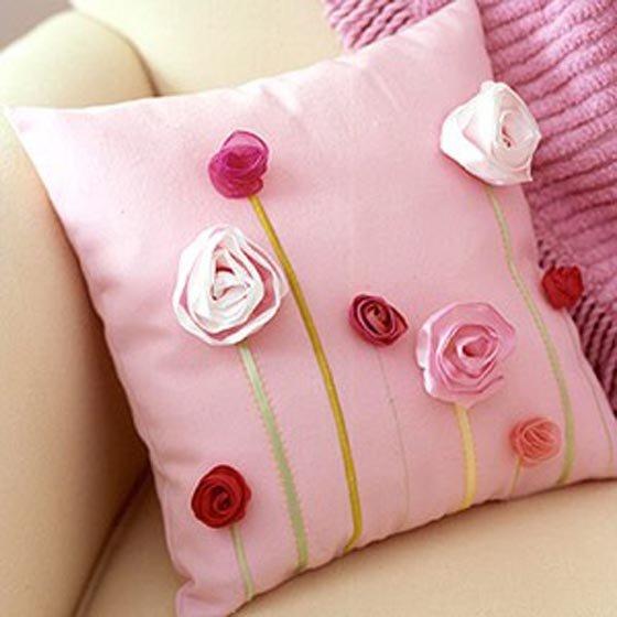 Красивые подушки своими руками фото мастер класс