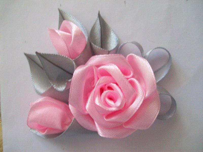 Канзаши вышивка лентами сделать цветы из ткани и лент